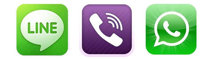 whatsapp-viber-line