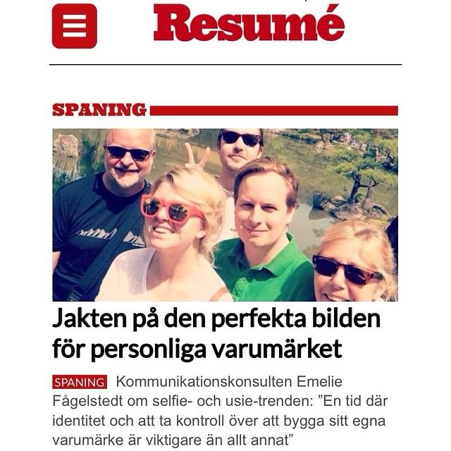 Selfie Stick Resume