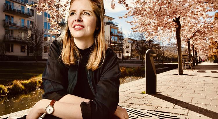 Emelie Fågelstedt fotograferad för tidningen Konsulten.
